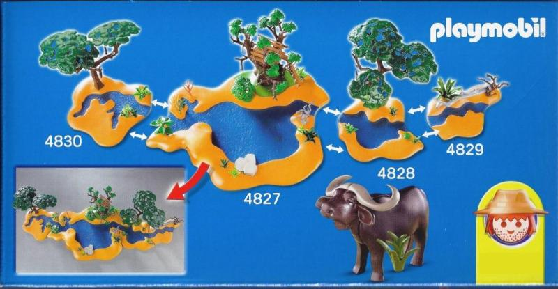 Playmobil Wildlife Waterhole 4827 Table Mountain Toys