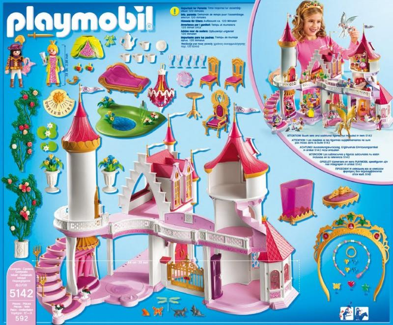 Playmobil princess fantasy castle 5142 table mountain toys for Playmobil princesse 5142