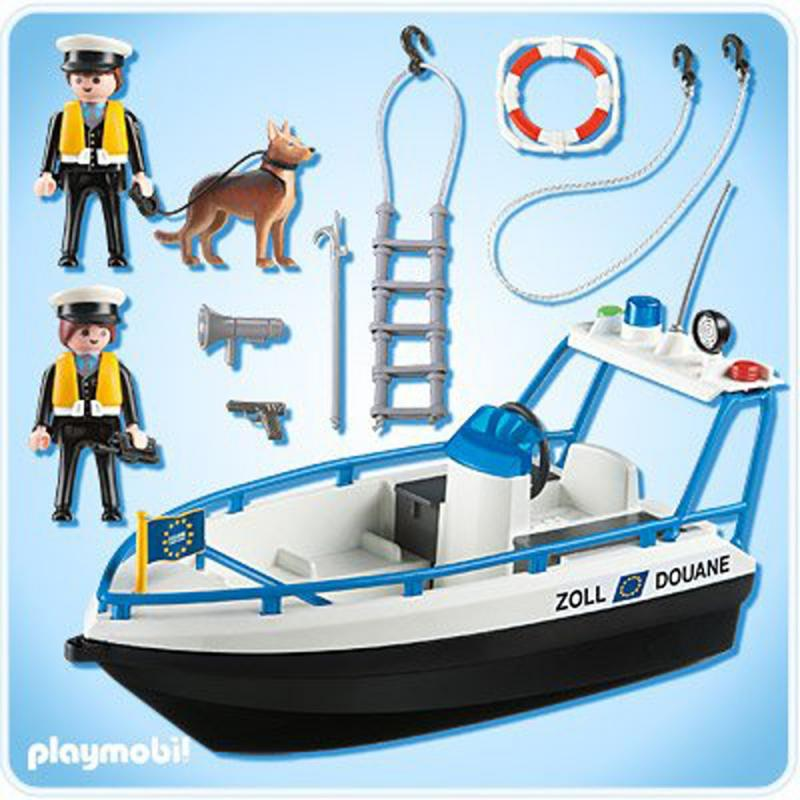 Playmobil Patrol Boat 5263 Table Mountain Toys
