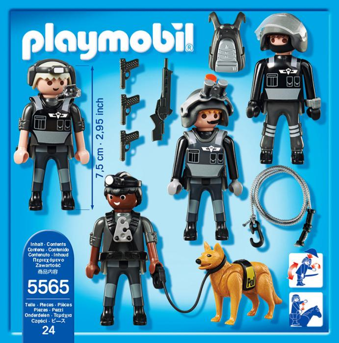 playmobil tactical unit team 5565  table mountain toys