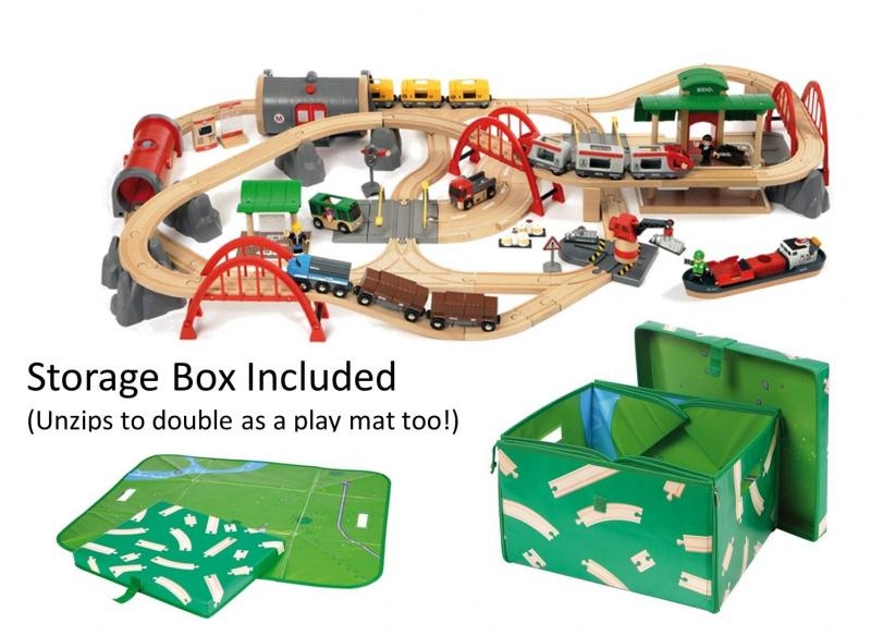 BRIO Deluxe Railway Train Set - 33052   Table Mountain Toys