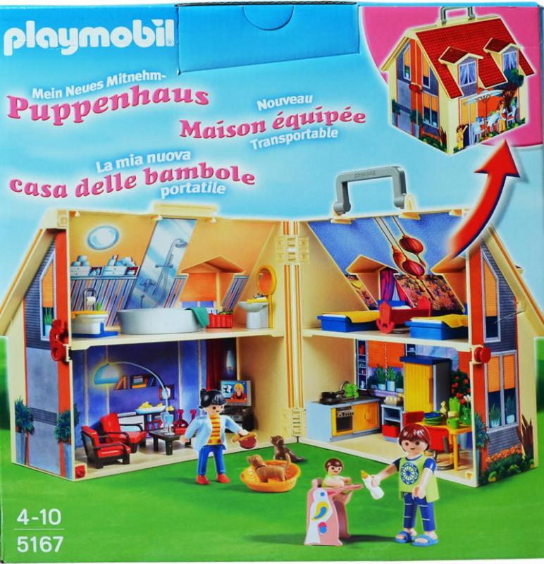 Playmobil Take Along Modern Doll House 5167 Table
