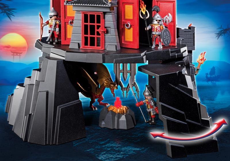 Playmobil Ancient Dragon Castle 5479 Table Mountain Toys