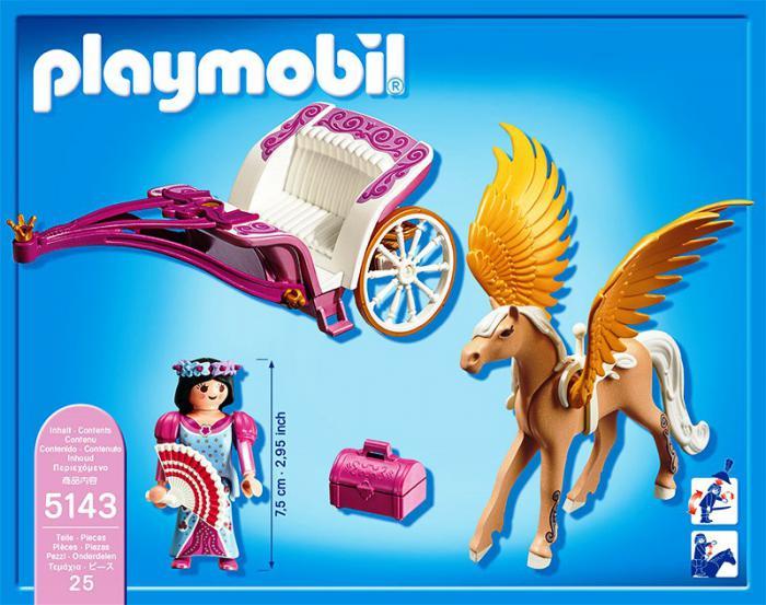 Playmobil Pegasus Carriage 5143 Table Mountain Toys