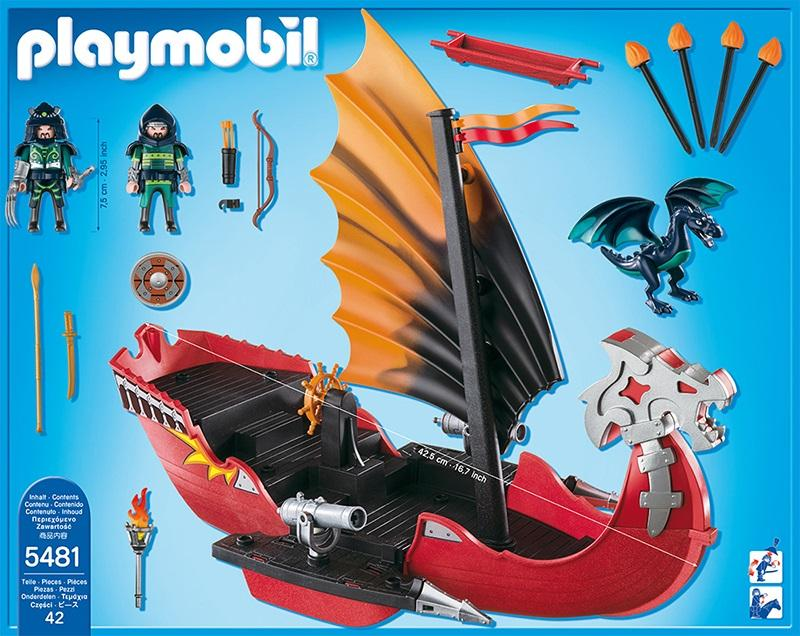 Playmobil Dragon Battle Ship 5481 Table Mountain Toys