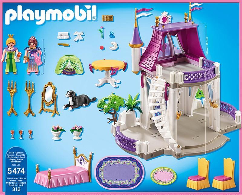 playmobil unicorn jewel castle 5474  table mountain toys