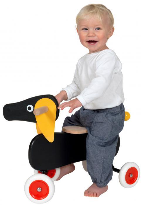 BRIO Dachshund Ride-on Dog 30100   Table Mountain Toys
