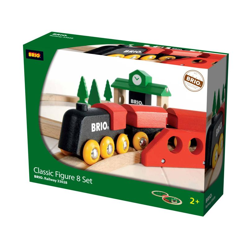 Brio Classic Travel Fig 8 Train Set 33028 Table