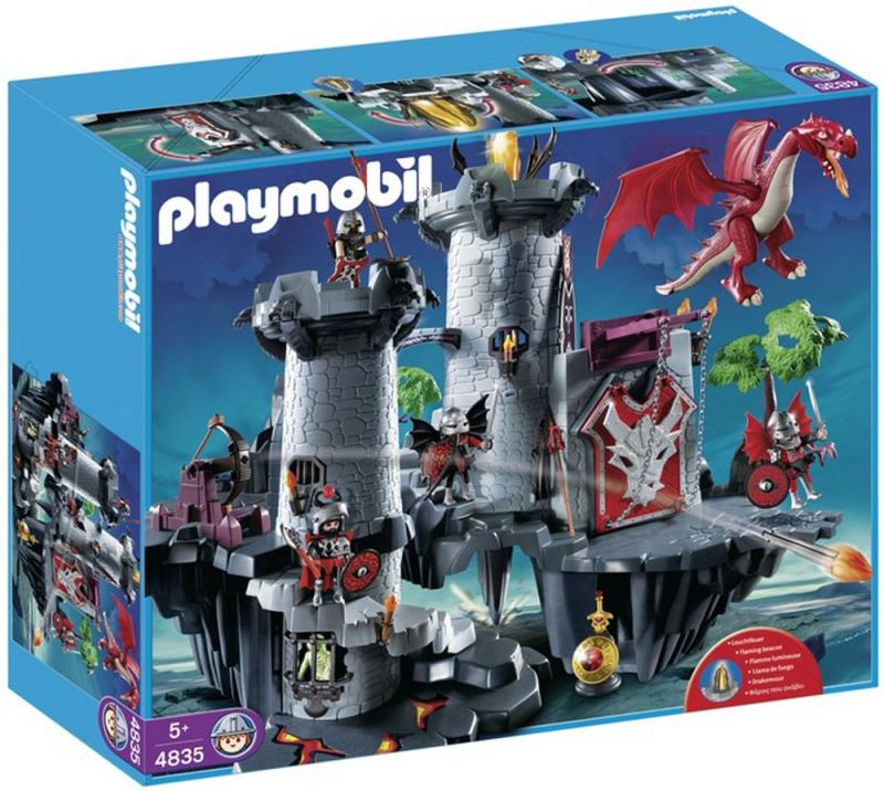 playmobil great dragon castle 4835 table mountain toys. Black Bedroom Furniture Sets. Home Design Ideas
