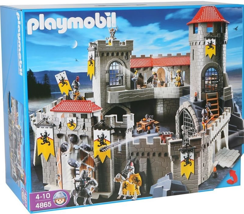 playmobil lion knights empire castle 4865 table mountain. Black Bedroom Furniture Sets. Home Design Ideas