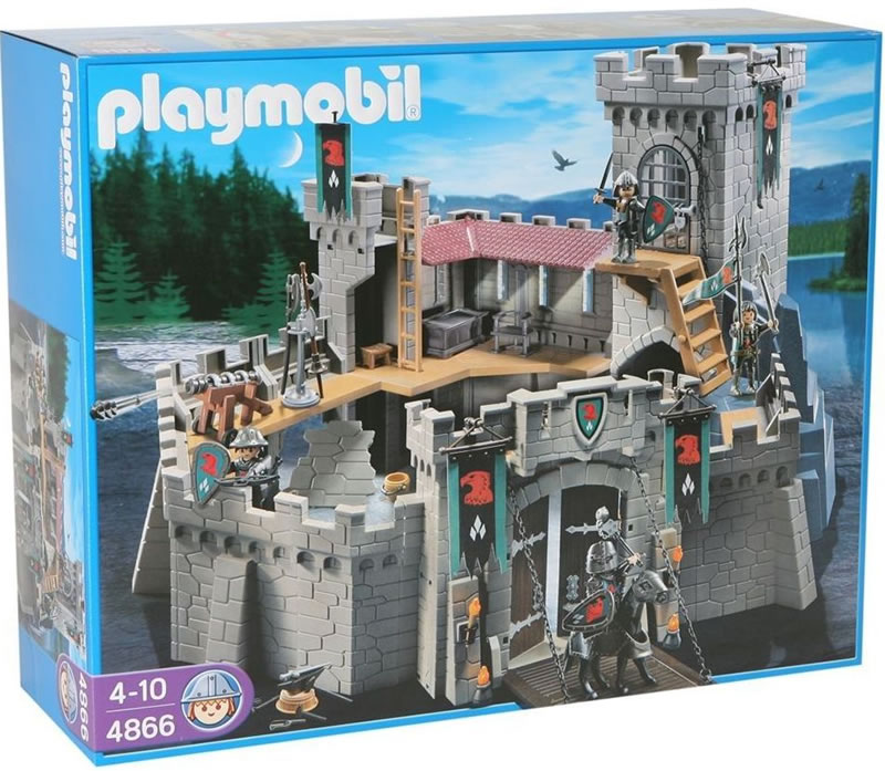 playmobil falcon knight 39 s castle 4866 table mountain toys. Black Bedroom Furniture Sets. Home Design Ideas