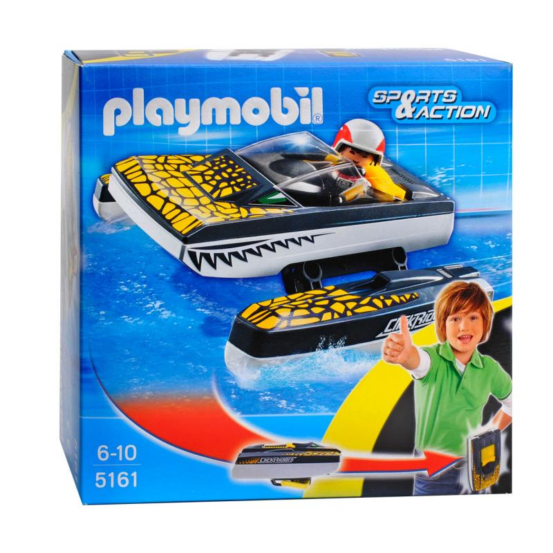 Playmobil click and go croc speed boat 5161 table Table playmobil