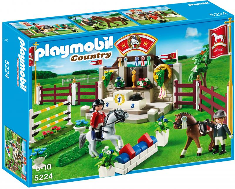 playmobil horse show 5224 table mountain toys. Black Bedroom Furniture Sets. Home Design Ideas