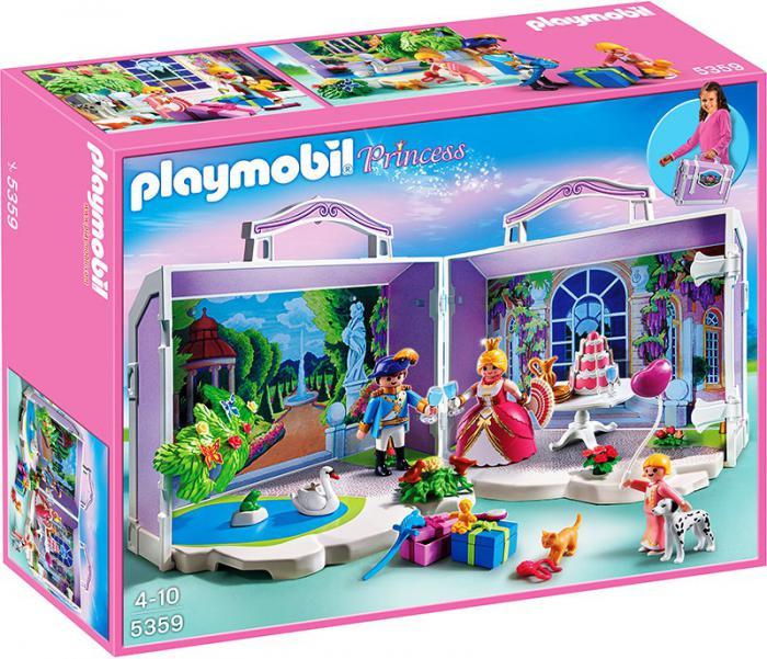 Take along princess birthday 5359 table mountain toys for Table playmobil