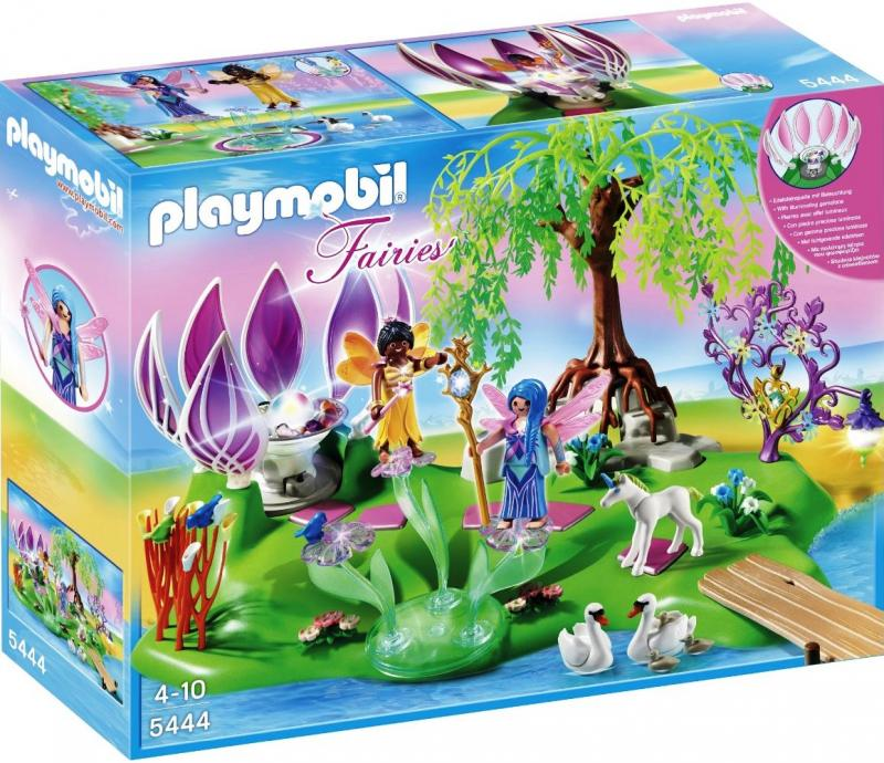 Playmobil Fairy Island With Jewel Fountain 5444