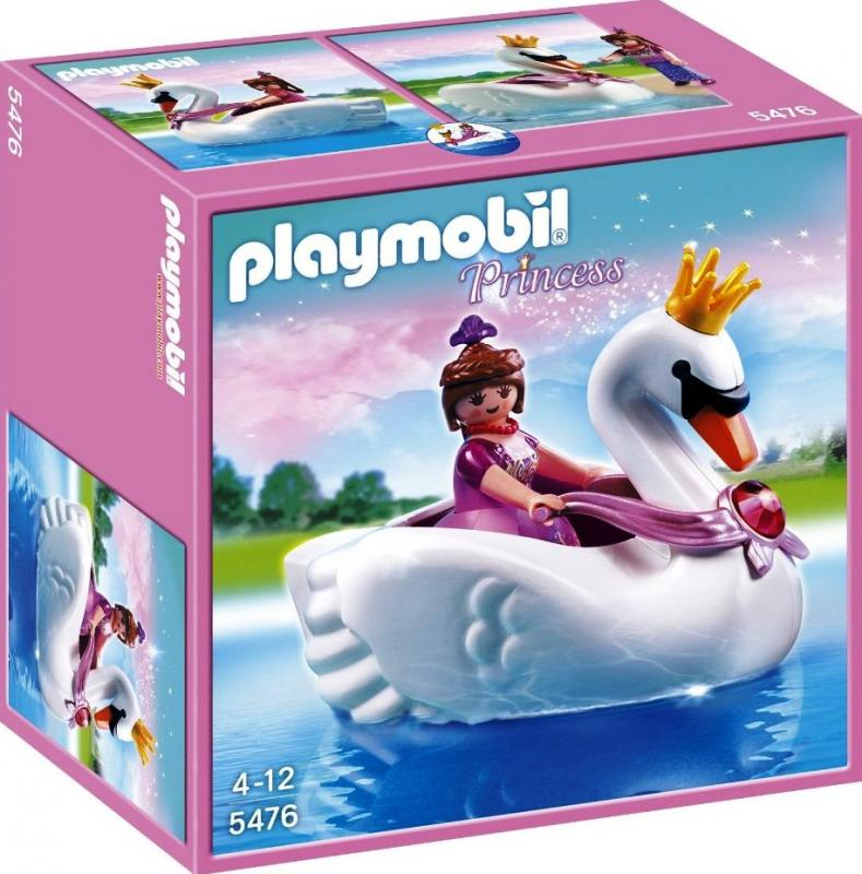 Playmobil Princess With Swan Boat 5476 Table Mountain Toys