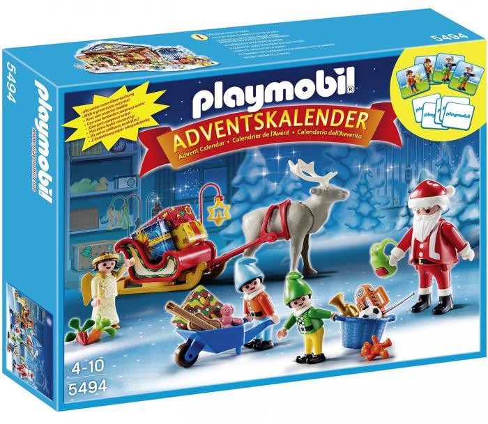 Playmobil Weihnachtskalender.Playmobil Advent Calendar Santas Workshop 5494 Table Mountain Toys